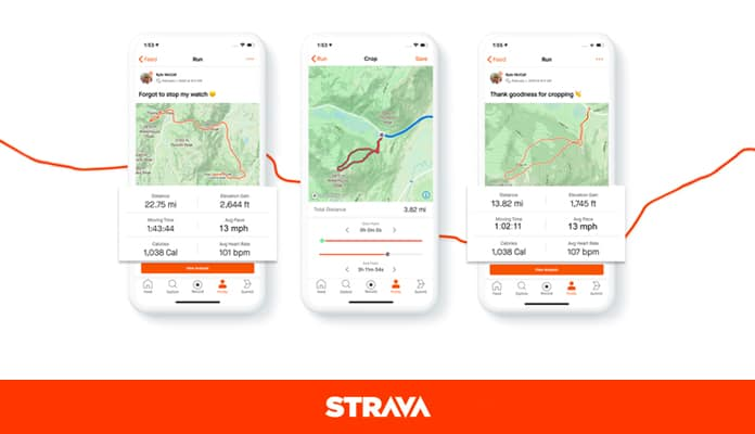 Route Tracking Apps: Strava