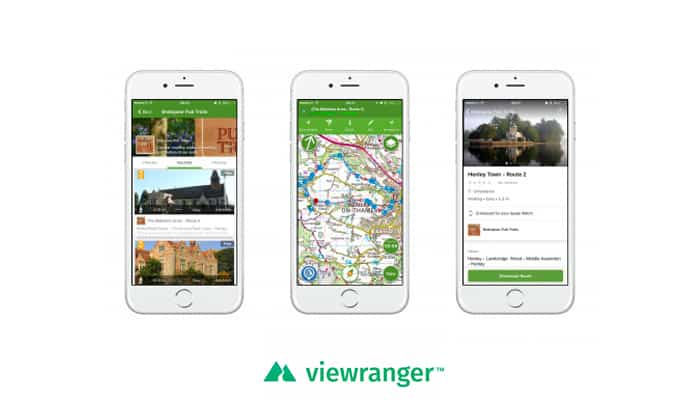 Route Tracking Apps: Viewranger