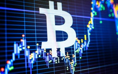 Cryptocurrency market candles